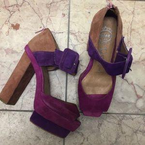 Jeffrey Campbell Dressen Platform Dress Sandal